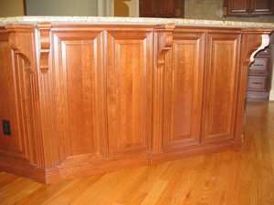 stained wood surfaces